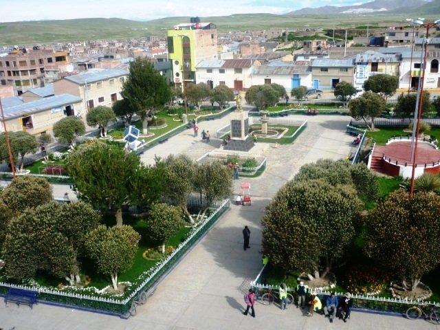 Resultado de imagen para Plaza de Armas de Espinar