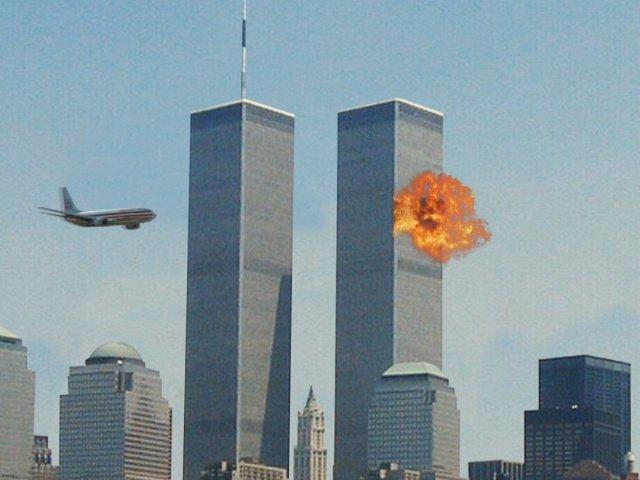 Resultado de imagen de fotos sobre el atentado de las torres gemelas