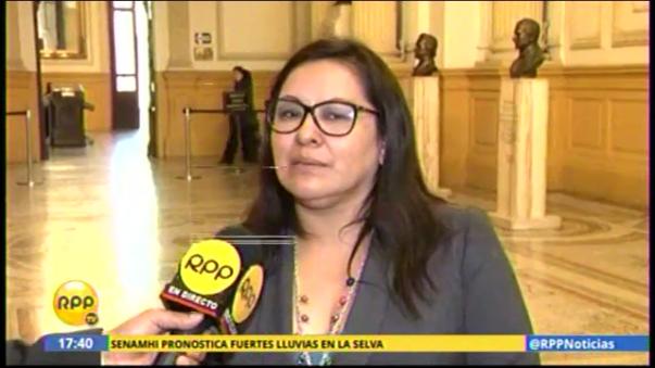 Congresista Julia Teves