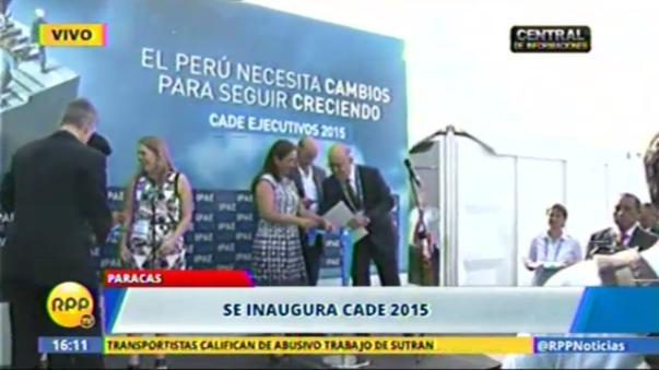 CADE 2015 inauguración