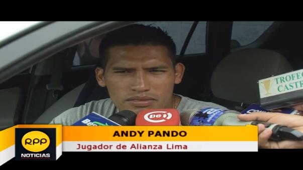 Andy Pando prefirió no apostar.