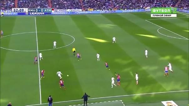 Real Madrid 0-1 Atlético.