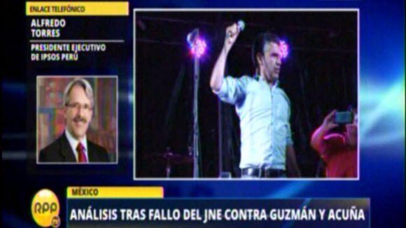 Torres habló en Ampliación de Noticias.