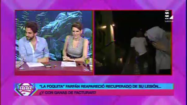Reportera de Amor Amor Amor fue 'trolleada' por Jefferson Farfán