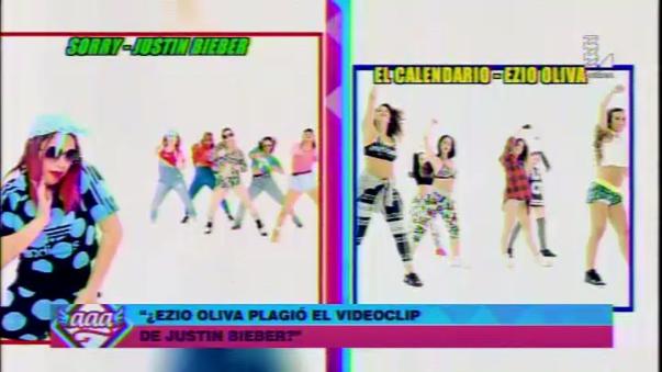 ¿Video de Ezio Oliva es una copia del clip de Justin Bieber?