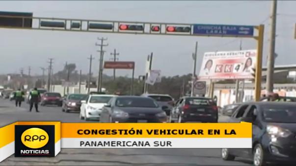 Más de 60 mil vehículos particulares se dirigen a las ciudades del sur con motivo de la Semana Santa.