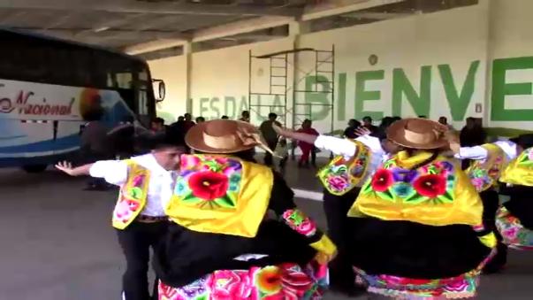 Turistas nacionales y extranjeros visitan la ciudad de Huancayo por Semana Santa.