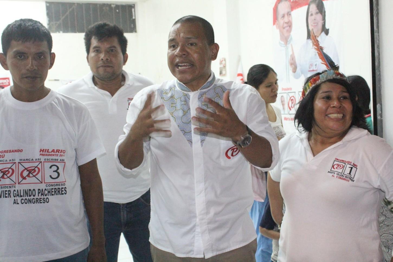 Una de las propuestas mas audaces de Miguel Hilario es destinar el 10% del PBI a la educación.