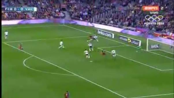 Barcelona 1-2 Valencia.
