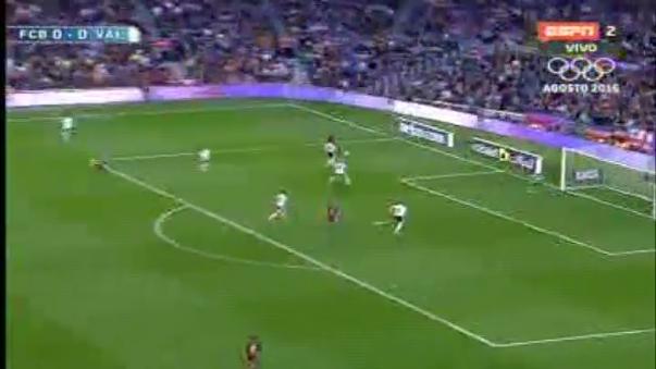 Resumen del Barcelona 1-2 Valencia.