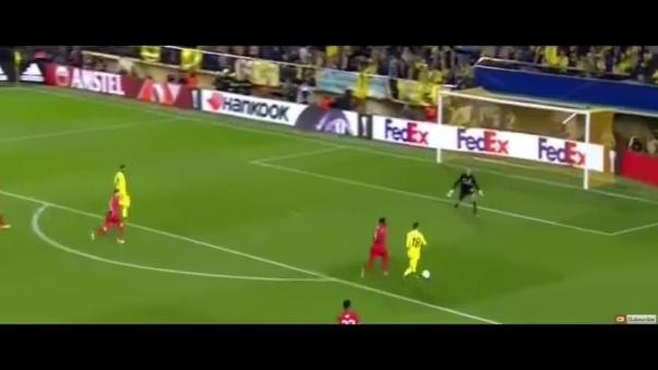 Aquí revive el solitario gol del Villarreal sobre Liverpool.