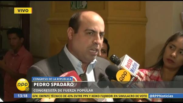 Pedro Spadaro exije la participación del Jurado Nacional de Elecciones.