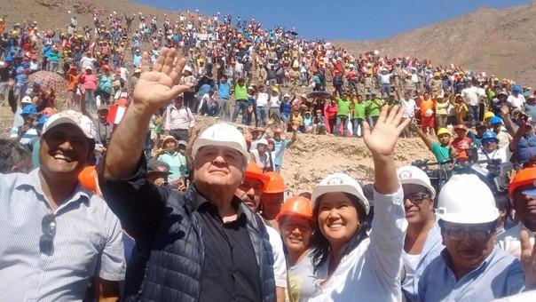 PPK dijo que la propuesta sobre la minería informal de Keiko Fujimori es demagógica.