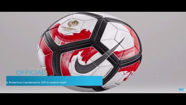 Conoce el balón de la Copa América Centenario 2016.