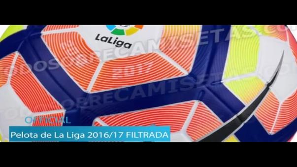 Este es el balón de la Liga BBVA 2016/17.