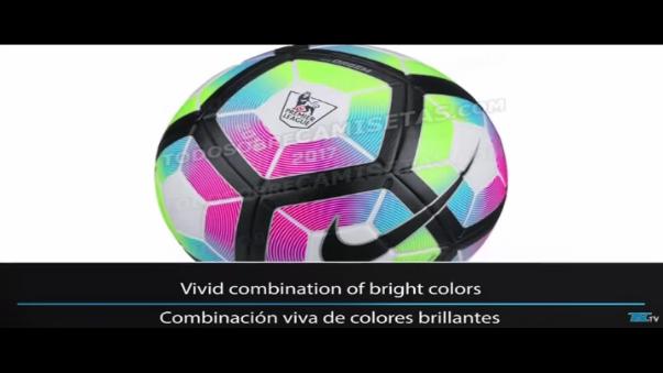 Este es el balón de la Premier League 2016/17.