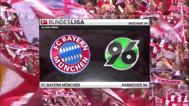 Bayern Munich superó sin problemas al Hannover 96