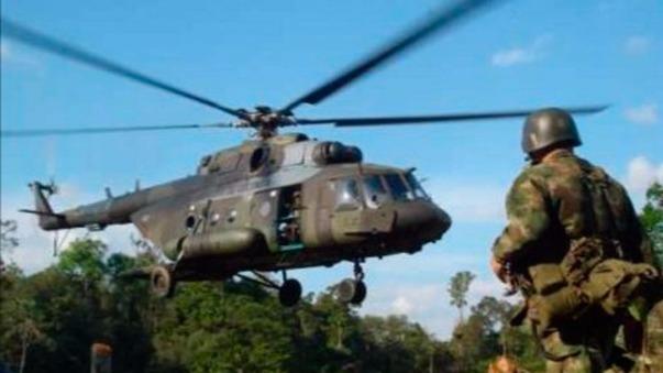 CCFFAA negó que el Ejército haya apoyado a Peruanos por el Kambio para que Kuczynski viaje al Vraem.