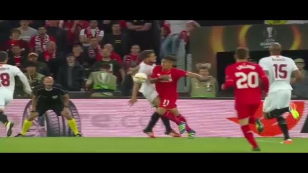 Liverpool no pudo con Sevilla y perdió 3-1 en la final de la Europa League.