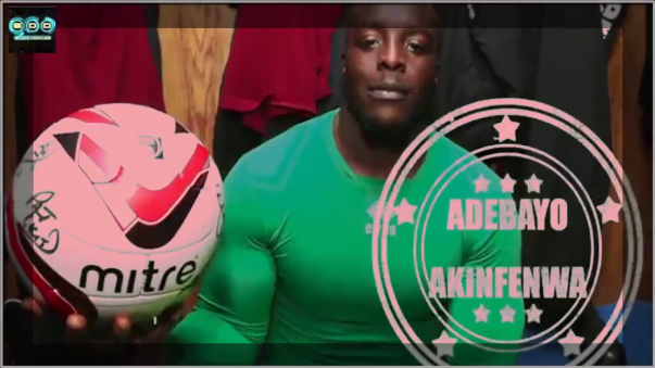 Adebayo Awinfenwa, el jugador más pesado del mundo pesa 101 kilos y mide 1 metro 80.