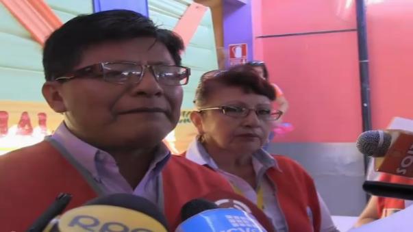 Participan de simulacro de sismo en Arequipa.