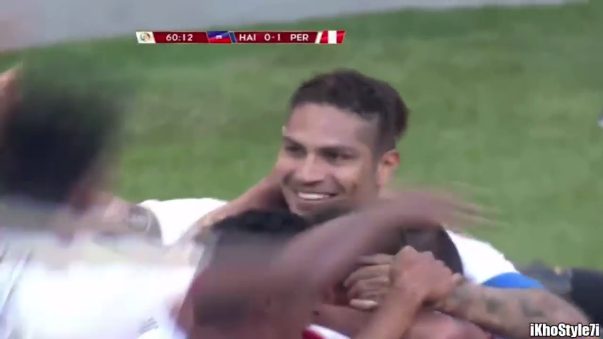 Resumen del triunfo 1-0 de Perú ante Haití.