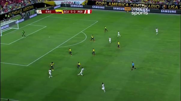 Resumen del empate 2-2 entre Perú y Ecuador.