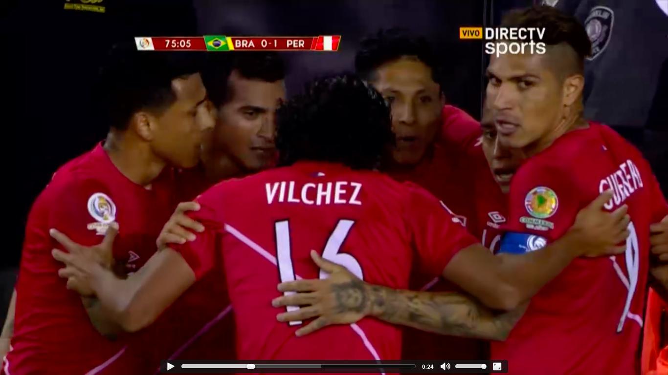 Selección Peruana Queda Eliminada