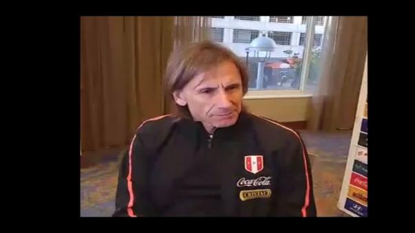 Ricardo Gareca habla de Christian Benvante.