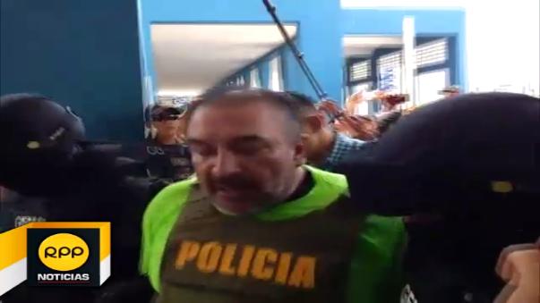 Gerardo Viñas Dioses acusó al presidente Ollanta Humala de 'traidor y perseguidor político'.