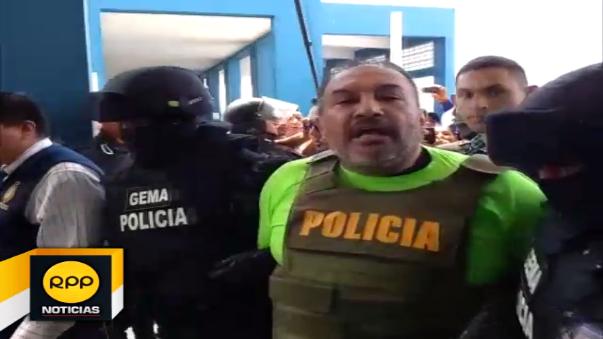 Gerardo Viñas Dioses acusó al presidente Humala de 'perseguidor político'.