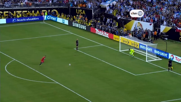 Revive aquí la tanda de penales entre Argentina y Chile.
