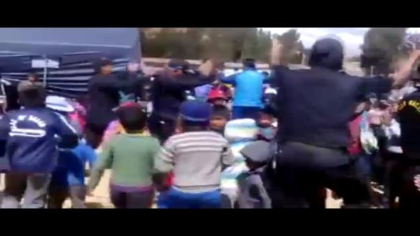 Personal de la Policía Nacional del Perú realizó evento en apoyo a la comunidad campesina de Huayanay