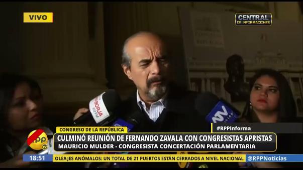 Mauricio Mulder se mostró en contra de mantener a Jaime Saavedra como ministro de Educación.