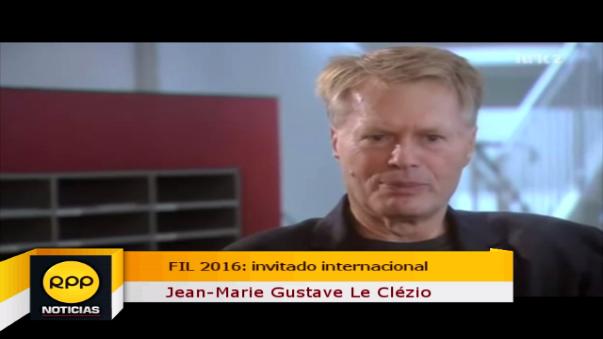 FIL 2016: Jean Marie Le Clézio, el Premio Nóbel invitado este año