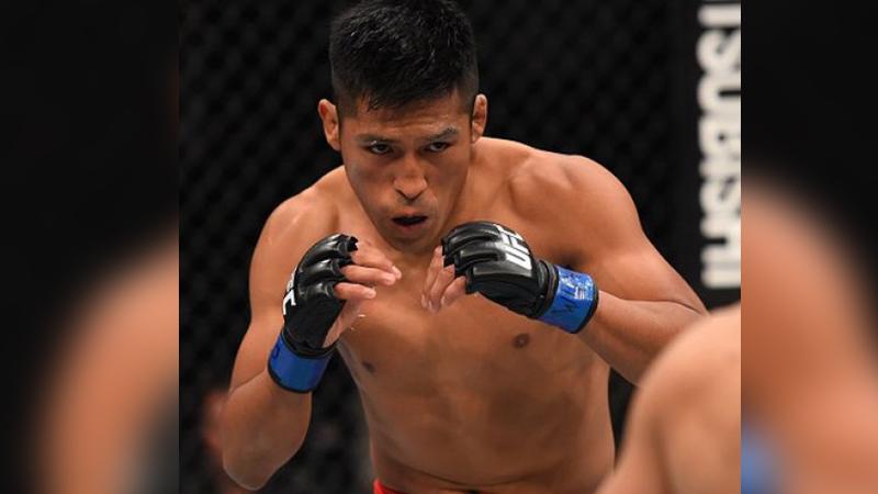 Enrique Barzola debutará el próximo 27 de agosto en la UFC