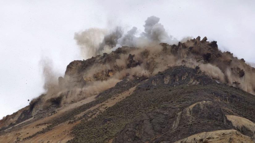 Detonaciones de proyecto minero ponen en riesgo a la población ... - RPP Noticias