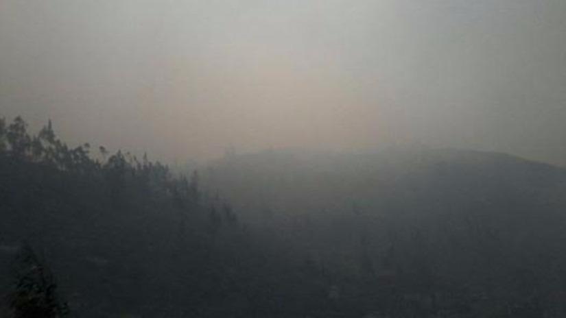 Tarma: incendio forestal en cerros de Huasahuasi - RPP Noticias