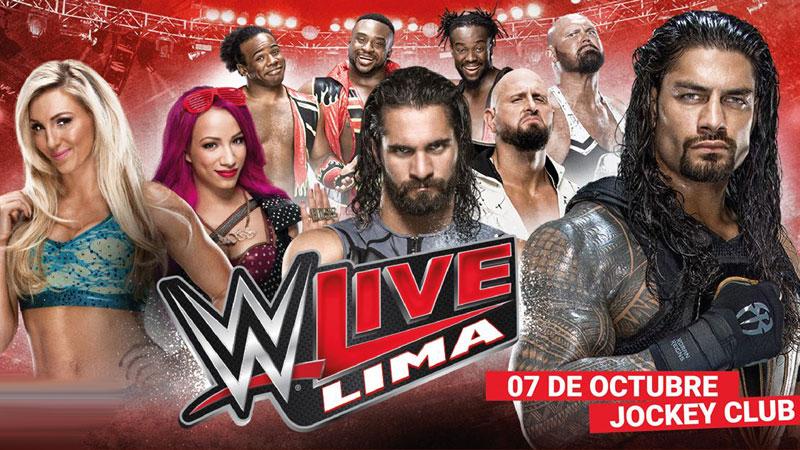 WWE llegará a Perú luego de 7 años de ausencia.