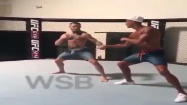 Cristiano Ronaldo se juntó con la estrella de la UFC, Conor McGregor.