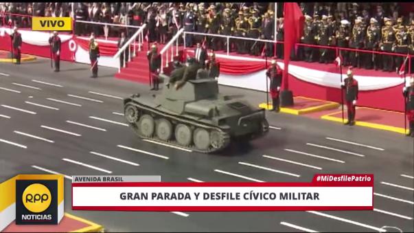 Tanque de la guerra con el Ecuador (1941)