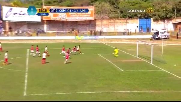 El último gol que marcó Edison Flores con Universitario de Deportes fue ante Unión Comercio.