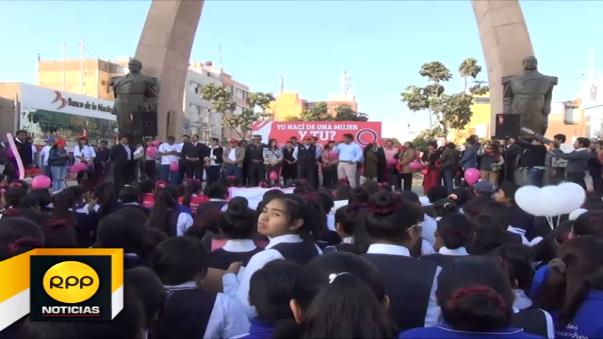 Marcha en Tacna.