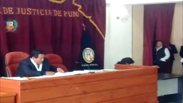 Rechazan pedido de prisión preventiva contra fiscal Añamuro.