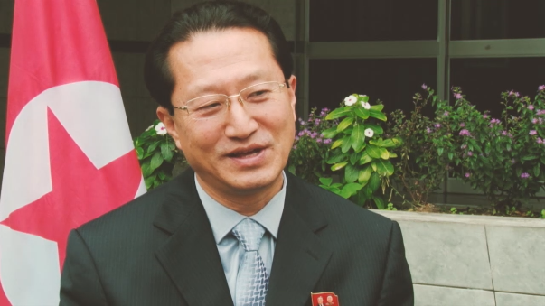 Kim Hak Chol es el embajador de Corea del Norte en el Perú.