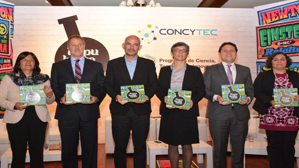 Conoce más de los ocho proyectos del Programa de Popularización de la Ciencia y Tecnología e Innovación en el Perú.