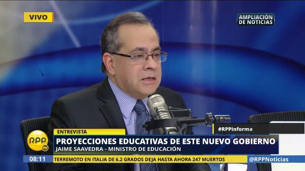 El ministro de educación explicó por qué es necesario una reglamentación para los colegios privados.