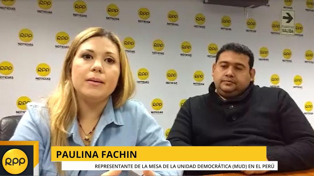 La conocida activista Paulina Fachin, explicó que los venezolanos que se están desplazando por la graves crisis humanitaria que vive su país, requieren la comprensión y el abrazo fraterno de países vecinos como el Perú.