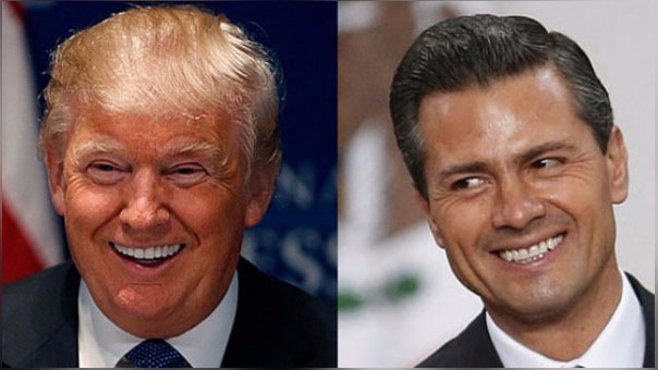 La reunión con Peña Nieto se producirá el mismo día en que Donald Trump tiene previsto dar un esperado discurso sobre su política migratoria en el estado de Arizona.