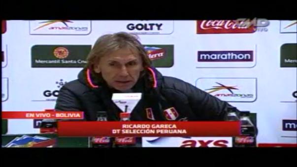 Ricardo Gareca dirigió en el Perú a Universitario de Deportes